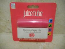 Juice Tube Portable Battery Power Pack iPhone Samsung Mobile Charger Pink