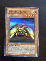 Yugioh! MP Z-Metal Tank - MFC-006 - Super Rare - Unlimited Edition Moderately Pl