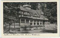"Ansichtskarte - Kurort Hitzacker/Elbe - ""Kurhaus Waldfrieden"" - Terrassenansicht"