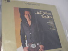 ANDY WILLIAMS ORIGINAL 1971 QUADRAPHONIC LOVE STORY OUT OF PRINT COLUMBIA LP