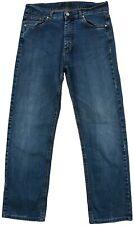 Canali Men's Jeans Denim Straight Casual Blue Cotton Pocket Button Zip Size 48