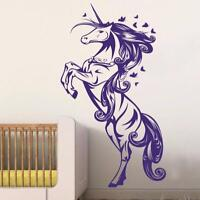 Unicorn Wall Decal Vinyl Wall Sticker For Kids Room Living Room Wall Decoration