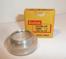 VINTAGE KODAK KODISK CLOSE UP +1  FILTER 320  , PUSH FIT , BOXED