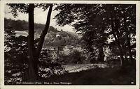 Bad Liebenstein  Thüringen Ansichtskarte 1938 Blick vom Wald auf Haus Thüringen