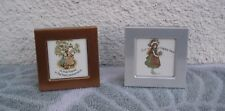 Vintage Small Holly Hobbie Miniature Picture Photo Frame Metal New In Box NOS