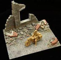 150x110x110mm BASE Resin Figure Model Kit European Ruins WWII WW2 Unpainted