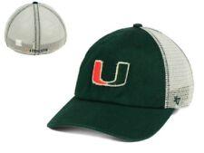 wholesale dealer d801a 6c3e7 NWT New NCAA 47 Brand Miami Hurricanes Tally Closer Mesh Flex L XL Cap Hat