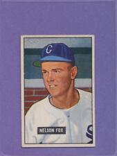 1951 Bowman Nellie Fox #232 HOF Rookie Card EX CENTERED