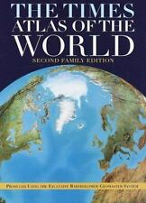 The Times Atlas of the World, Second Family Edition-ExLibrary
