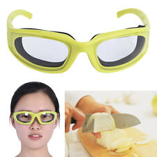 Onion Cutting Goggle Glasses Eye Protect Cooking BBQ Kitchen Gadget Green Goggle