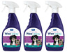 3 x RSPCA Wee-Away 3-in-1 Cleaner, Stain & Odour Remover Pet Friendly 500ml