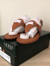 Lauren Ralph Lauren Dayna Ladies Sandal Polo Tan UK6