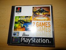 V Rally & Eagle One 2 Games Pack for Sony PlayStation 1 ps1 mint collectors