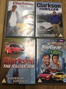 Clarkson DVD Bundle Italian Job -Thriller -No Limits- Perfect Road Trip.FREEPOST