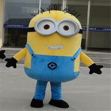 Adult Minions Mascot Costume EPE Fancy  Outfit - Proper Mascot-not inflatable