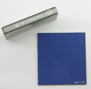 Cokin A Series 020 + 2 Blue 80 A Filter With Case - Used G3