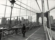 New York, the Brooklyn-Bridge, the Word Trade Center 1983