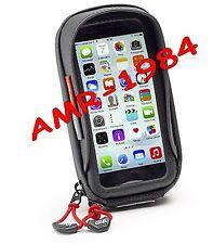 PORTA SMARTPHONE x MOTO AL MANUBRIO iPHONE S6 - Galaxy S5  mm 56x127  GIVI S956B
