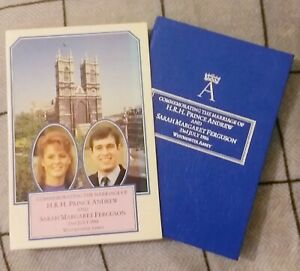 HOLY BIBLE. Prince Andrew Sarah Ferguson. Royal Wedding 1986. King James Version