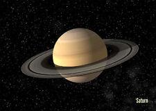 Saturn - Astronomy - Motion 3D Lenticular Postcard Greeting Card