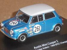 BTCC CHAMPION CARS,AUSTIN MINI COOPER S 1969 ALEC POOLE.MAG HR10