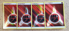 4x Pokemon Holo Foil FIGHTING Energy Cards (set of 4) from Battle Decks