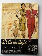EL CORTE INGLÉS Catálogo otoño-invierno 1943-44.