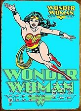 Wonder Woman everlasting metal calendar 400mm x 310mm (fd) REDUCED TO CLEAR