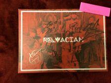 A.cian Relacian Driving Signed Autographed Authentic KPOP Mwave M&G 2 Posters