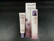 Lot of 2 Aveeno Naturals Absolutely Ageless Eye Cream, Blackberry 0.5 oz No box