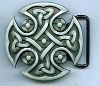 Gothic Celtic Knoten Design Mittelalter Belt Buckle Gürtelschnalle 286