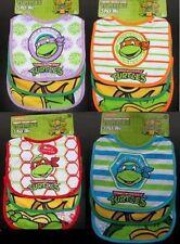 Teenage Mutant Ninja Turtles - TMNT -12 Baby Bibs - Baby Gift