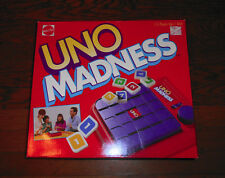 1995 Uno Madness Tile Board Game Mattel NIB FACTORY SEALED RARE Collectable