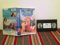 Babe: Pig in the City (VHS, 1999, Clamshell Release) Tape & clamshell case