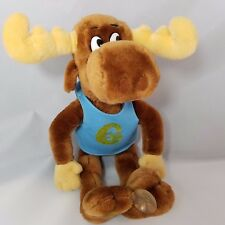 VNT 1985 Bullwinkle Suction Cup Plush Stuffed Animal Doll Mighty Star Rocky