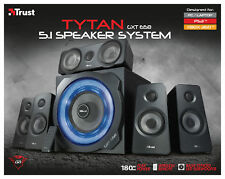 TRUST 22004 GXT658 TYTAN 180W 5.1 SPEAKER SET WITH WIRELESS REMOTE CONTROL