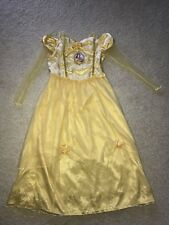 Disney Store Princess Belle Beauty and the Beast Nightgown Pajamas Girls 9 10