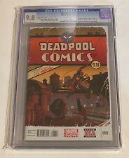 Marvel Comics DEADPOOL 27 Art Adams Variant 9.8 CGC Bride Key Issue movie Disney