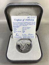 1987 Bermuda Sea Venture $25 Palladium Proof Coin 1 troy oz .999 with COA & Box