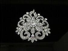 Desire Accessories  Austrian Crystal Floral Bridal  Hair Comb(DA6031)