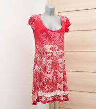 DESIGUAL Spanish Designer Red Floral Dress Size XL