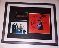 NECK DEEP SIGNED ALL DISTORTIONS ARE INTENTIONAL CD FRAMED PHOTOS SEALED COA