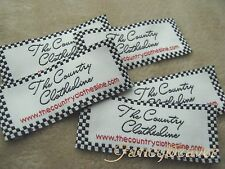 Lot 600 High Quality Custom Clothing Woven Labels/ Sewing/ Dressing/ Stitching