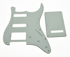Ivory/Parchment ST Strat HSS Guitar Pick Guard Back Plate fits Fender