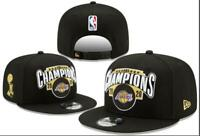 Los Angeles Lakers New Era 2020 Team Locker Room 9Fifty Hat SnapBack Cap Collect