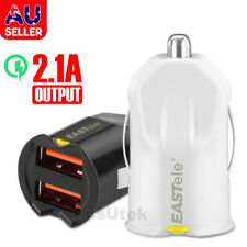 Dual USB Car Charger Power Adapter Cigarette Lighter Socket / Plug / Connector
