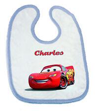 Bavoir pour bébé  personnalisable Cars