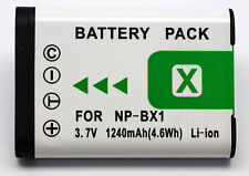 NP-BX1 de batería para Sony DSC-RX100 NP-BX1 NPBX1 1240MAH 3.7V NUEVO