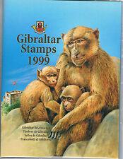 España. Libros del Correo de Gibraltar de los años 1999-2000-2001