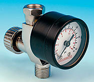 Devilbiss Spray Gun In-line Air Pressure Gauge